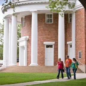 Alma College is listed (or ranked) 2 on the list Colleges With Best On-Campus Housing