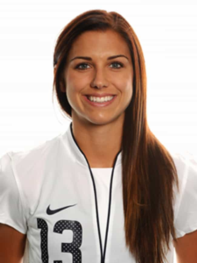 Alex Morgan is listed (or ranked) 1 on the list The Hottest Women on the 2012 US Olympic Team