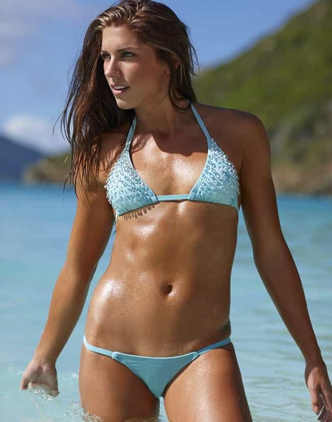 Alex Morgan is listed (or ranked) 1 on the list The Hottest Female Soccer Players
