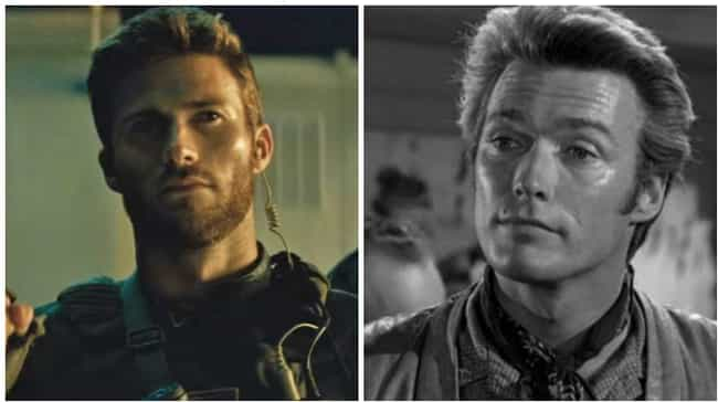 Scott Eastwood is listed (or ranked) 1 on the list 18 Photos Of Celebrities And Their Famous Parents At The Same Age