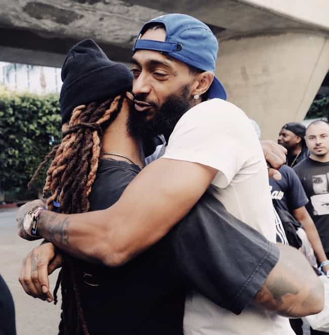 Nipsey Hussle is listed (or ranked) 2 on the list All Of Ty Dolla Sign's Celebrity Friends