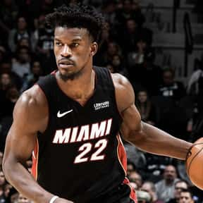 Jimmy Butler is listed (or ranked) 6 on the list The Most Attractive NBA Players Today