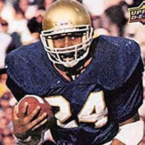 Mark Green is listed (or ranked) 25 on the list The Best Notre Dame Fighting Irish Running Backs of All Time