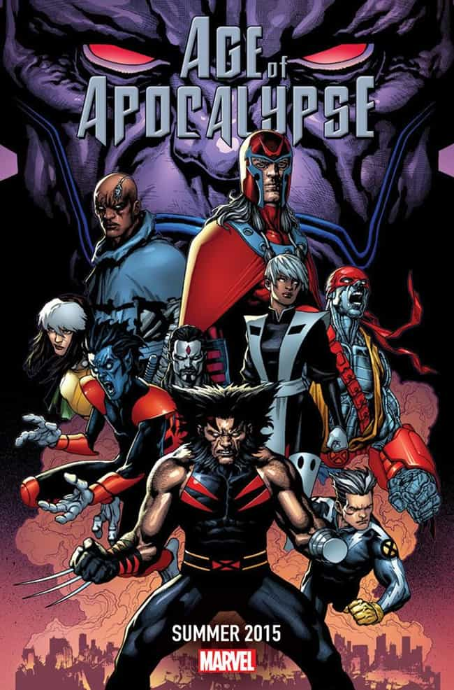 Age of Apocalypse is listed (or ranked) 3 on the list The Best Teasers for Marvel's Secret Wars Event