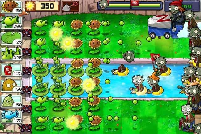 Plants vs. Zombies is listed (or ranked) 1 on the list The 13 Best Free Zombie Games You Can Play Right Now