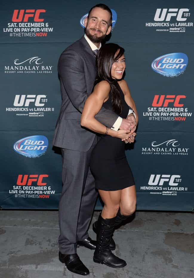 AJ Lee is listed (or ranked) 1 on the list CM Punk Loves and Hookups