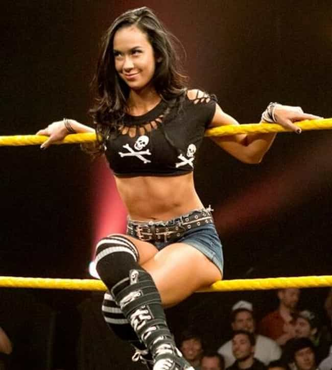 AJ Lee is listed (or ranked) 3 on the list John Cena Loves and Hookups