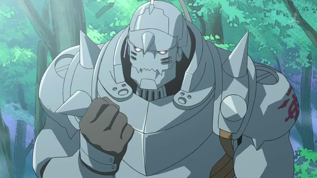 Alphonse Elric Gave Up A Chance To Get His Body Back In 'Fullmetal Alchemist: Brotherhood'