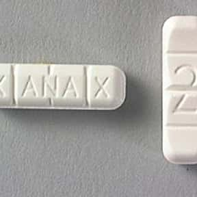 Xanax is listed (or ranked) 20 on the list The Worst Drugs for You