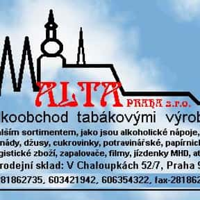 Alta Praha s.r.o. is listed (or ranked) 1 on the list List of Wholesale Companies
