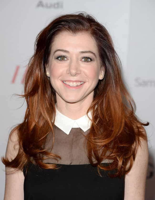 Alyson Hannigan is listed (or ranked) 1 on the list Famous Friends of Holly Marie Combs