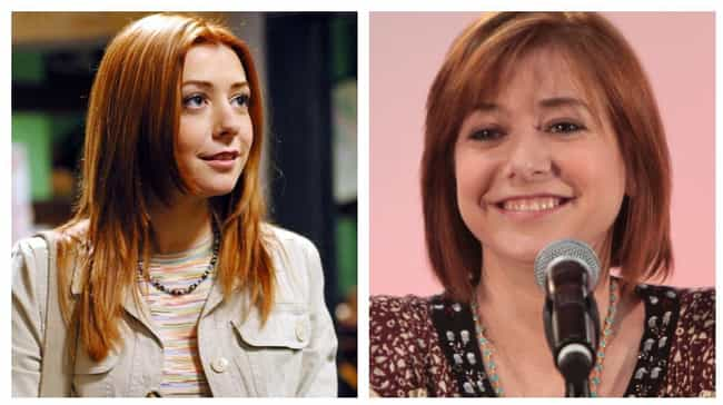 Alyson Hannigan is listed (or ranked) 3 on the list Here's What The Cast Of Buffy The Vampire Slayer Looks Like Now
