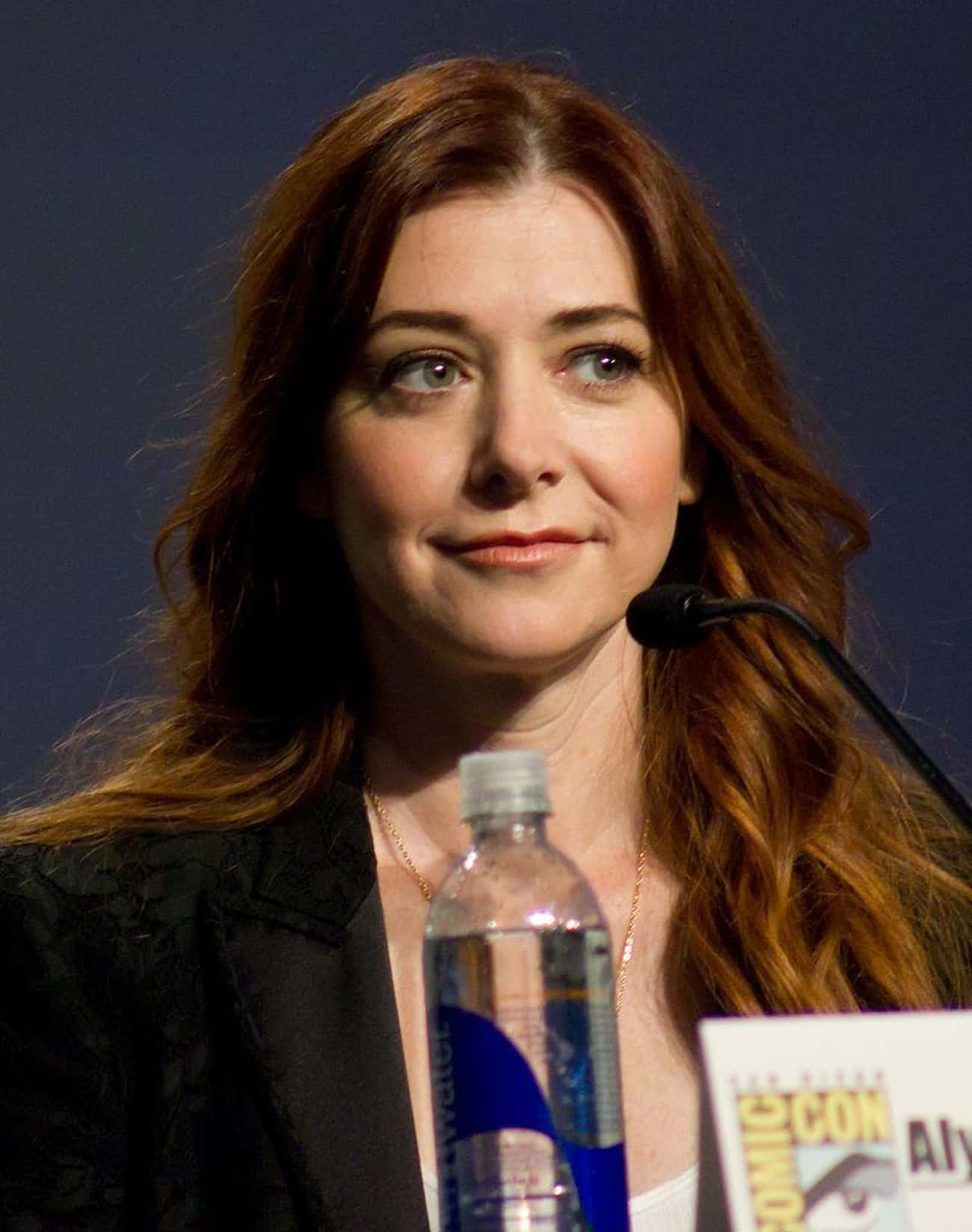 Alyson Hannigan is listed (or ranked) 2 on the list 12 Real Pregnancies Written Into TV Shows