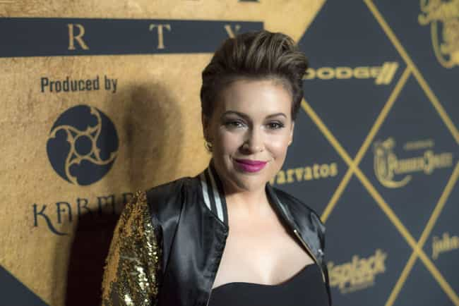 Alyssa Milano is listed (or ranked) 2 on the list Celebrities on Google Plus