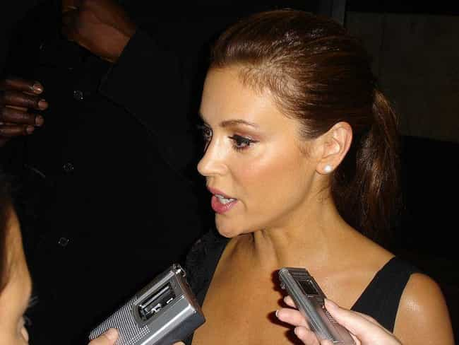 Alyssa Milano is listed (or ranked) 4 on the list 20 Celebrities Who Play Piano