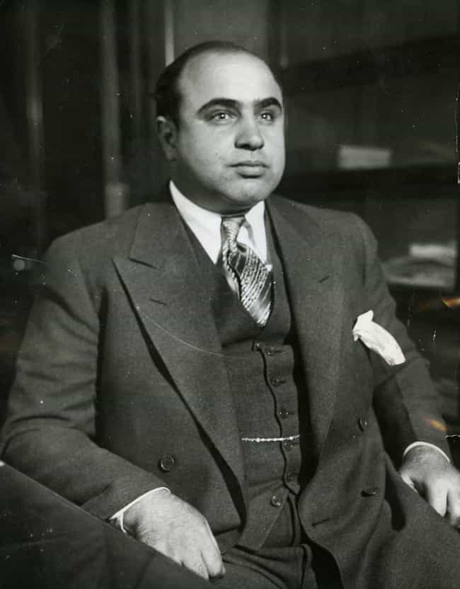 Al Capone is listed (or ranked) 3 on the list Cherished Recipes From History's Most Famous Figures