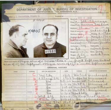Gangster Al Capone Had Syphili is listed (or ranked) 1 on the list 12 Historical Figures You Didn't Know Had STDs