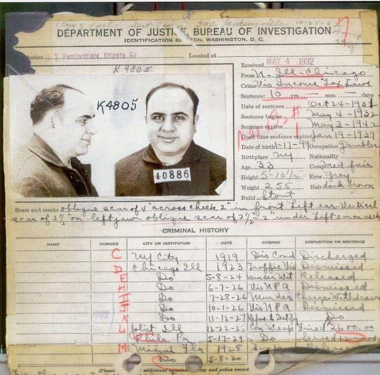 Gangster Al Capone Had Syphilis