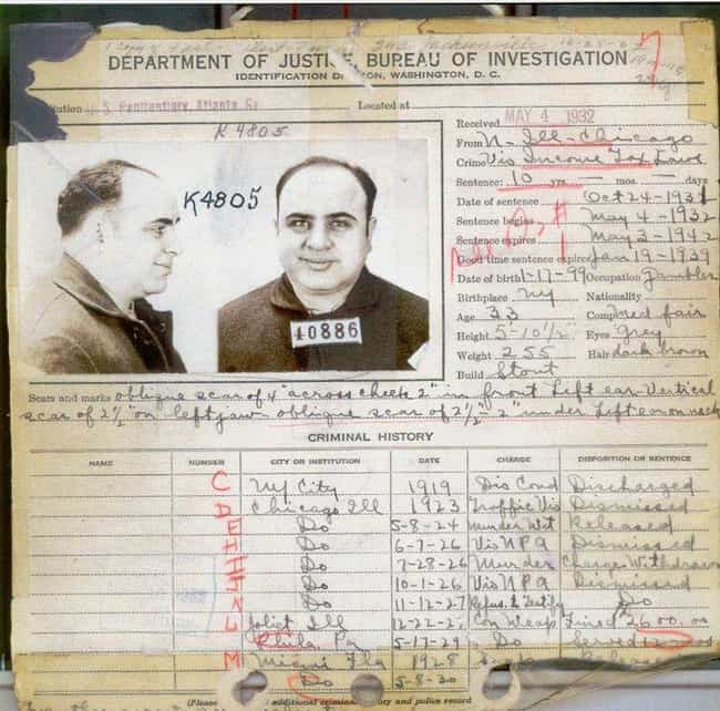 Al Capone is listed (or ranked) 1 on the list 12 Historical Figures You Didn't Know Had STDs