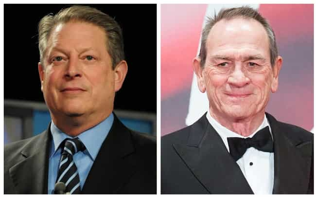 Al Gore is listed (or ranked) 8 on the list Celebrities Who Were Once Roommates