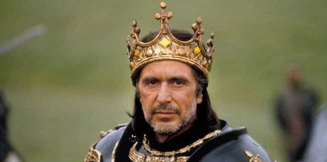 Al Pacino is listed (or ranked) 1 on the list 17 Actors Who Have Played Richard III