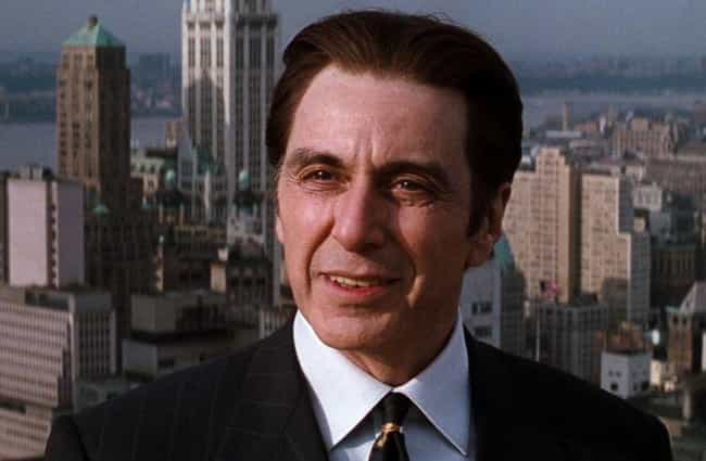 Al Pacino is listed (or ranked) 1 on the list Actors Who Played Satan, Ranked By How Much The Devil Would Approve
