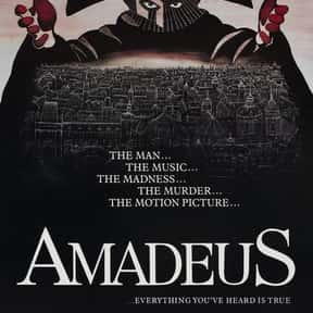 Amadeus is listed (or ranked) 4 on the list The Best Period Movies Set in the 18th Century