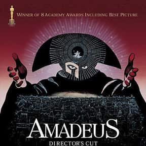 Amadeus is listed (or ranked) 24 on the list The Best Movies Based On True Stories