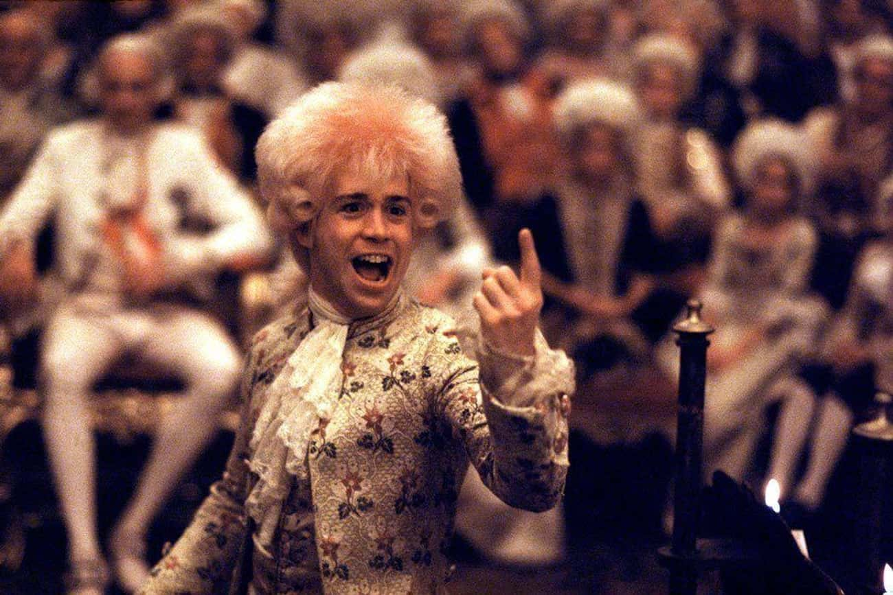 'Amadeus' is listed (or ranked) 1 on the list The Most Wildly Inaccurate Biopics Of Famous Musicians And Bands