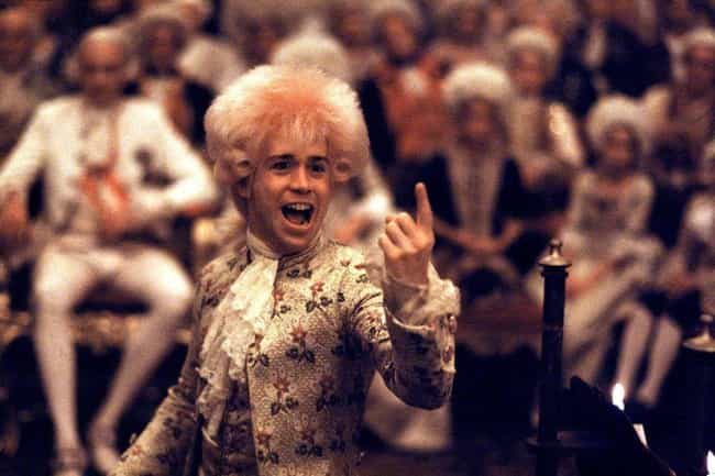 Amadeus is listed (or ranked) 1 on the list The Most Wildly Inaccurate Biopics Of Famous Musicians And Bands