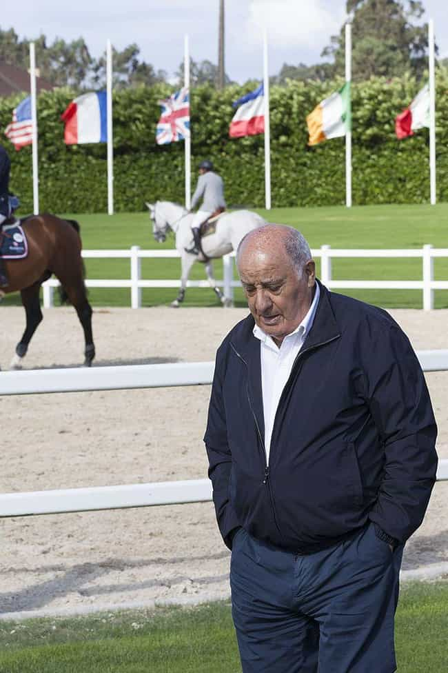Amancio Ortega Gaona is listed (or ranked) 1 on the list 10 Insanely Wealthy People You've Never Even Heard Of