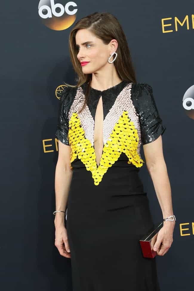 Amanda Peet is listed (or ranked) 4 on the list The Worst Dressed at the 2016 Emmy Awards