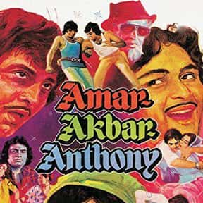 Amar Akbar Anthony is listed (or ranked) 25 on the list The Best Amitabh Bachchan Movies