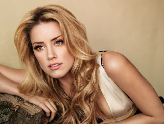 Amber Heard Is Listed Or Ranked 1 On The List The Most Beautiful Blondes