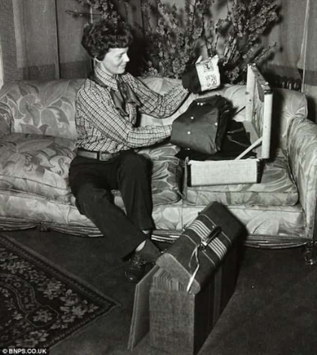 Amelia Earhart is listed (or ranked) 23 on the list The Last Known Photos of 52 Famous People