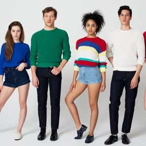 American Apparel is listed (or ranked) 7 on the list The Top Clothing Brands in the World