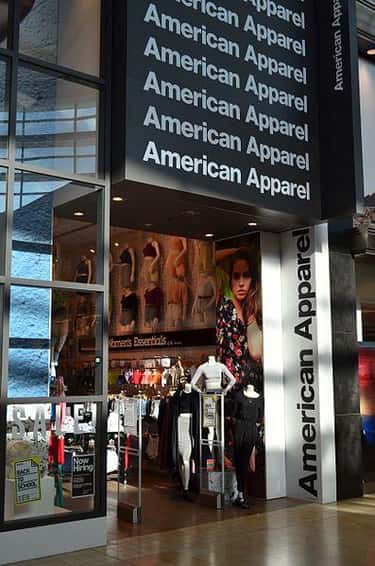 American Apparel is listed (or ranked) 2 on the list Retail Companies that Offer the Best Employee Discounts
