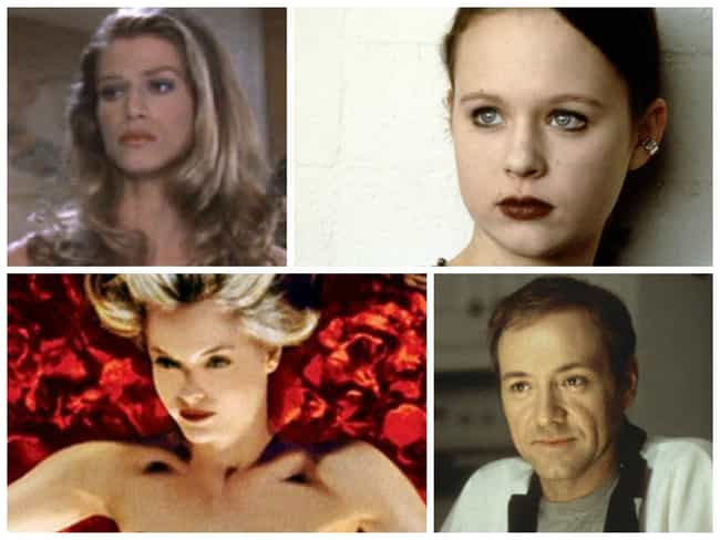 American Beauty is listed (or ranked) 8 on the list The Sexiest Movie Casts from the 90s