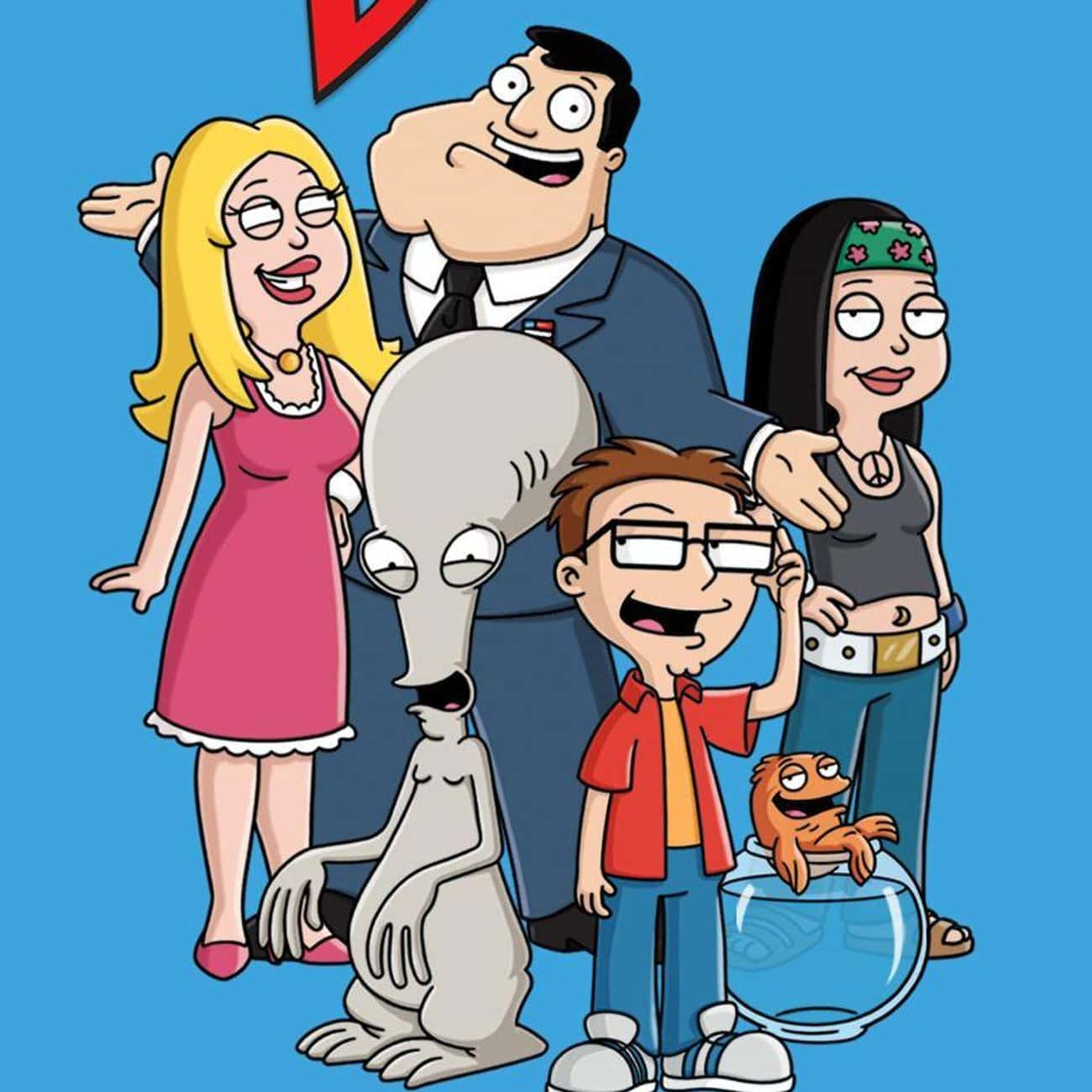 American Dad! is listed (or ranked) 3 on the list TV Shows Produced By 20th Century Fox Television