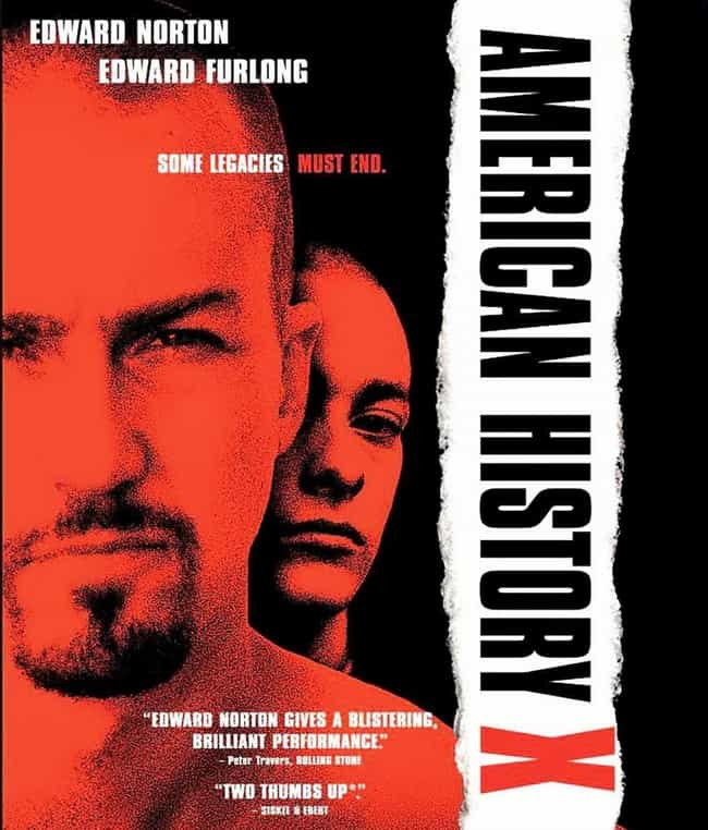 American History X is listed (or ranked) 4 on the list What to Watch If You Love Fight Club
