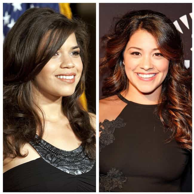 America Ferrera is listed (or ranked) 4 on the list Celebrities Who Were Mistaken For Each Other By The Media