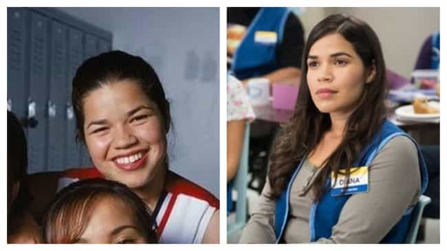 America Ferrera is listed (or ranked) 3 on the list Disney Channel Original Movies With Actors Who Are Mega-Famous Now