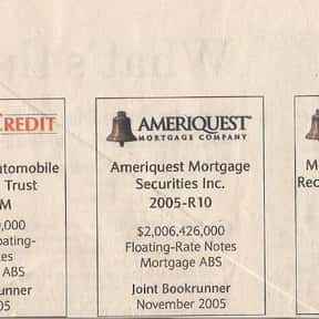 Ameriquest Mortgage is listed (or ranked) 22 on the list Companies Headquartered in California