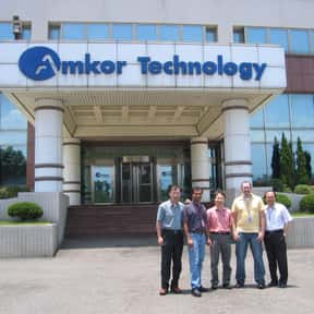Amkor Technology is listed (or ranked) 5 on the list Companies Headquartered in Arizona
