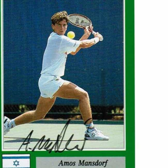 Amos Mansdorf is listed (or ranked) 3 on the list The Best Tennis Players from Israel