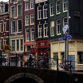 Amsterdam is listed (or ranked) 3 on the list The Best Cities for a Bachelor Party