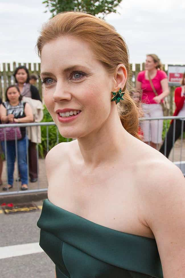 Amy Adams is listed (or ranked) 3 on the list The Most Beautiful Women with Strawberry Blonde Hair