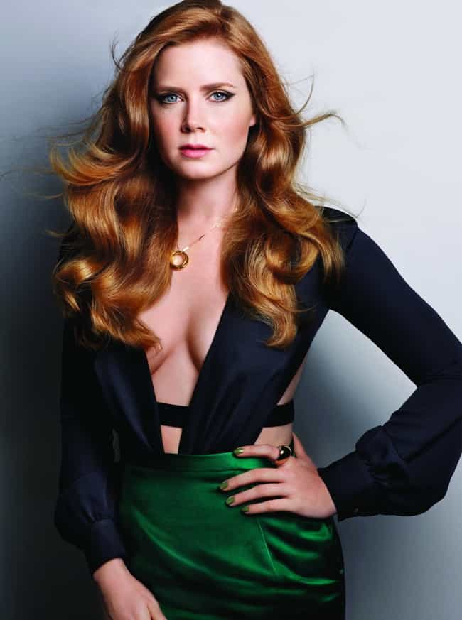 Amy Adams is listed (or ranked) 1 on the list The Hottest Actresses Who Can Actually Act