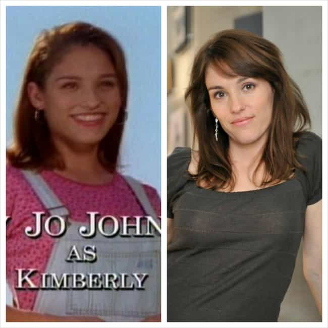 Amy Jo Johnson is listed (or ranked) 2 on the list Power Rangers Then & Now
