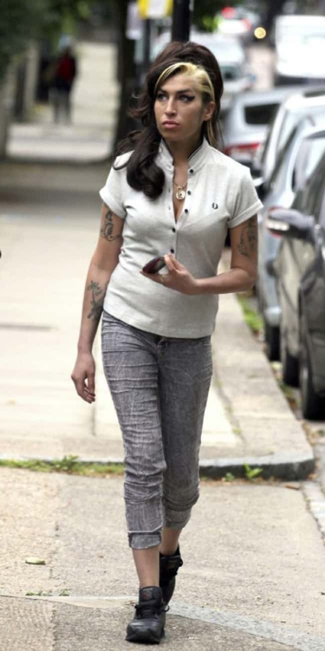 Amy Winehouse is listed (or ranked) 18 on the list The Last Known Photos of 52 Famous People